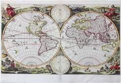Vintage Map, Daniel Stoopendaal, Wereit Caert