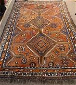 Semi antique Persian Shiraz carpet