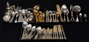 American associated silver flatware, 35.69 troy oz.