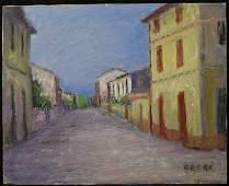 6199 Oilcanvas Gino Brogi Italian