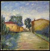 6206 Oilcanvas Gino Brogi Italian