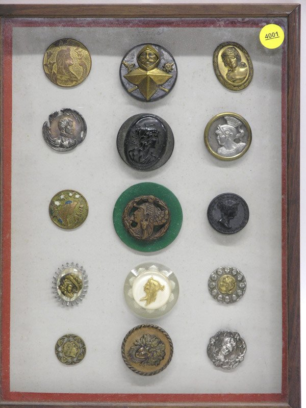 4001: Selection of cameo buttons