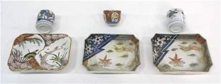 Japanese Imari dishes