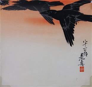 Japanese Woodblock Print, Shibata Zeshin, 19c