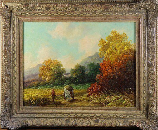 Painting, Paul Wesley