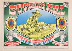 Vintage Rock Posters, FD-55, FD-58, FD-59, FD-61, and