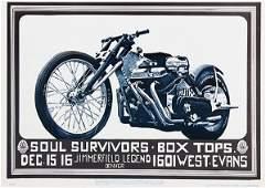 Vintage Rock Posters, FD- D10, D11, D12, D14, and D15