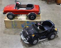 (lot of 3) Model Mercedes convertible roadster childs