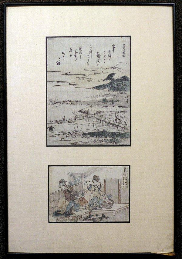 2385: Japanese woodblock print, Hokusai