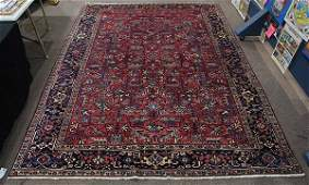 Semi antique Persian Heriz carpet