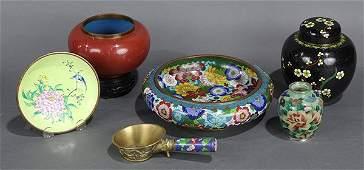 Chinese Cloisonne Enamel Items