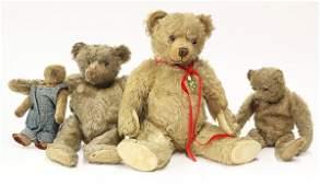 Steiff style teddy bears
