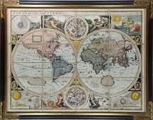 Celestial Map of the World, John Speed