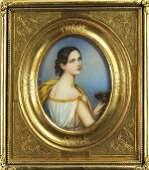 Miniature, Portrait of Woman