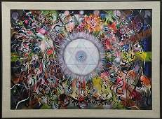 Painting, Michael Brown, Mystic Abstract,