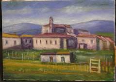 165 Oil Gino Brogi Italian modern