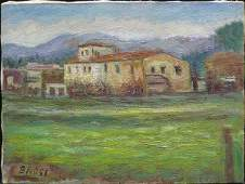 276 Oil Gino Brogi Italian modern