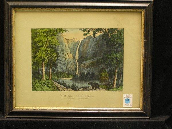 332: Currier & Ives Bridal Veil, Yosemite