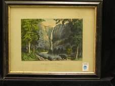 332 Currier  Ives Bridal Veil Yosemite