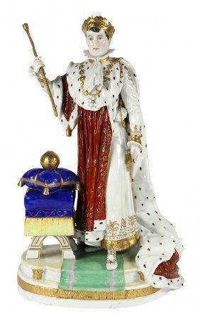 Scheibe-alsbach (kister) Figure Of Napoleon I
