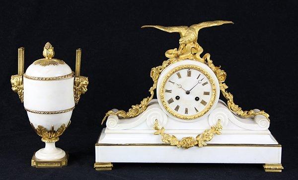 (lot of 2) French Napoleon III  ormolu mounted figural
