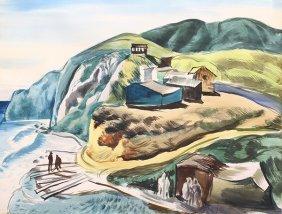 Watercolor, Millard Owen Sheets
