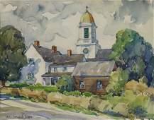 Watercolor Colin Campbell Cooper