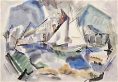 Watercolor, John Marin