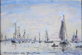 Watercolor, Johan Barthold Jongkind