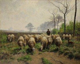 Painting, Frans Van Leemputten