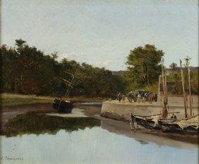 Painting, Louis Etienne Timmermans