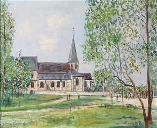 Painting, Maurice Utrillo