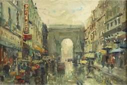 Painting Mario Agostinelli