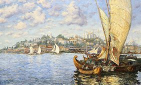Painting, Konstantin Ivanovich Gorbatov