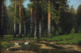 Painting, Konstantin Kryzhitsky