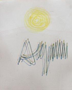 Drawing, Yaacov Agam