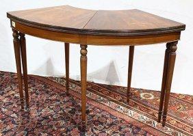 George Iii Style Mahogany Wine (tasting) Table