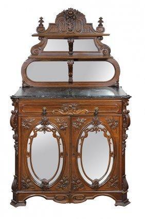 American Rococo Revival Buffet
