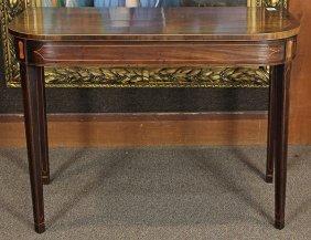 Hepplewhite Style Hall Table