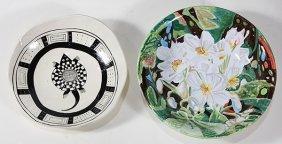 (lot Of 2) Art Pottery Group