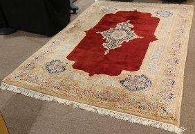 """Persian Kerman Carpet, 7' X 10'3"""""""