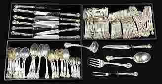 American Gorham partial sterling silver flatware
