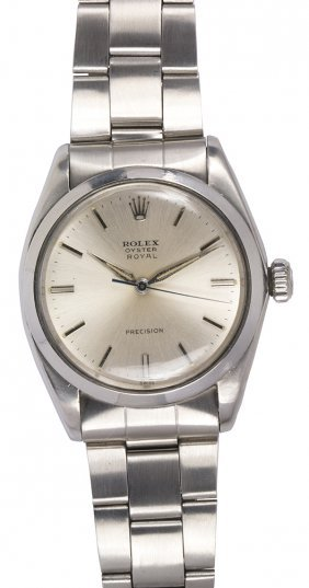 Rolex Royal Oyster Precision Stainless Steel