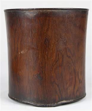 Chinese Wooden Brush Pot