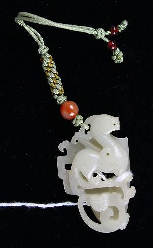 Chinese Jade Toggle