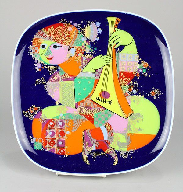 Bjorn Wiinblad for Rosenthal studio-line porcelain