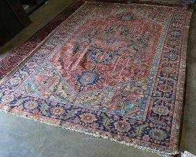 Persian Heriz Carpet Approx