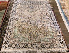 Persian Kerman Carpet, 6' X 4'