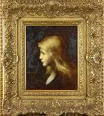 Painting, Jean-Jacques Henner
