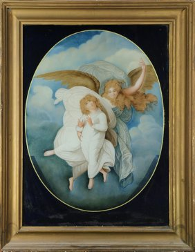 Two Angels, Painting